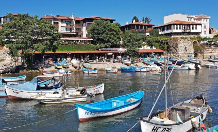 Port in Nessebar