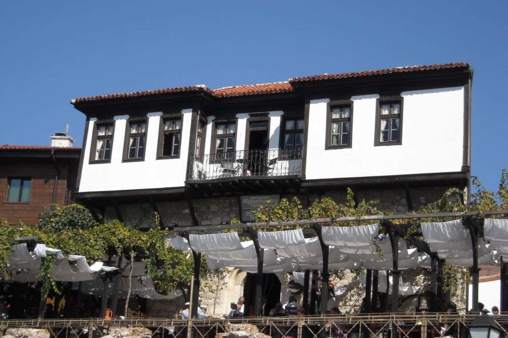 Old houses in Nessebar