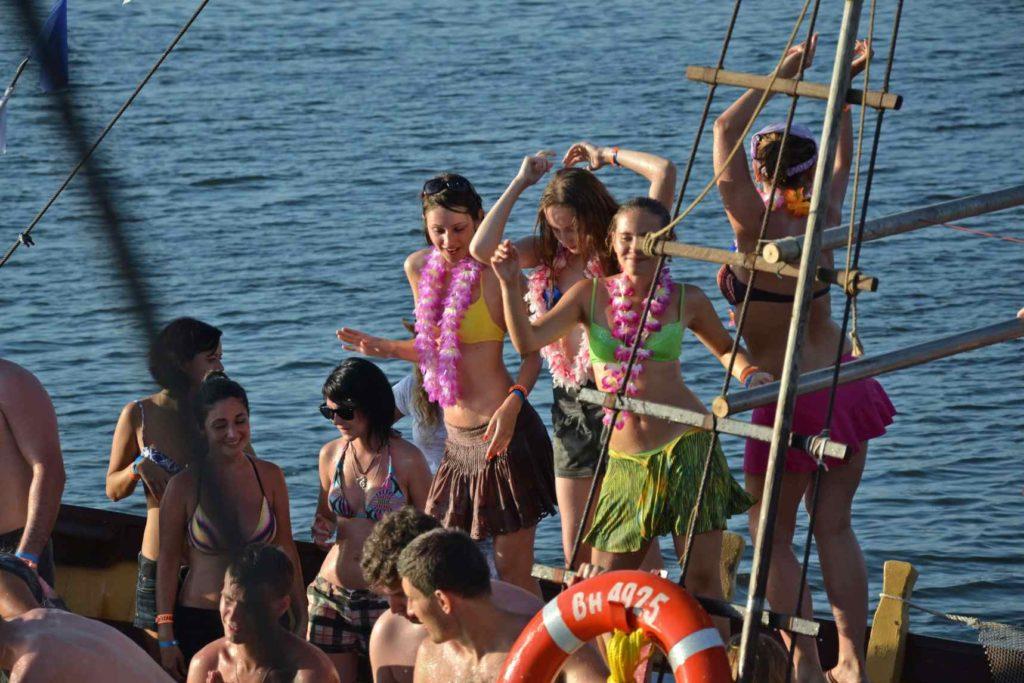 bikini summer party