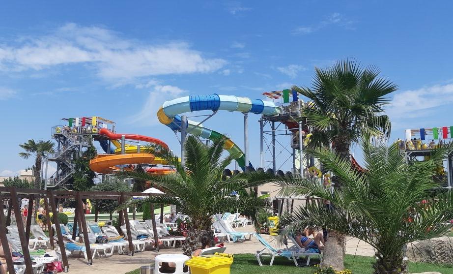 Aquaparks in Sunny Beach