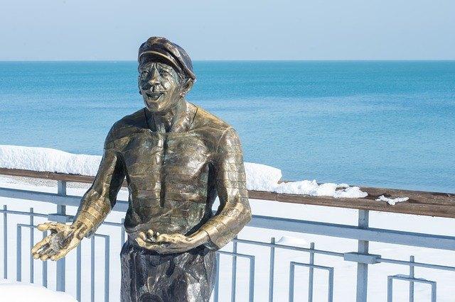 Sculpture in Burgas